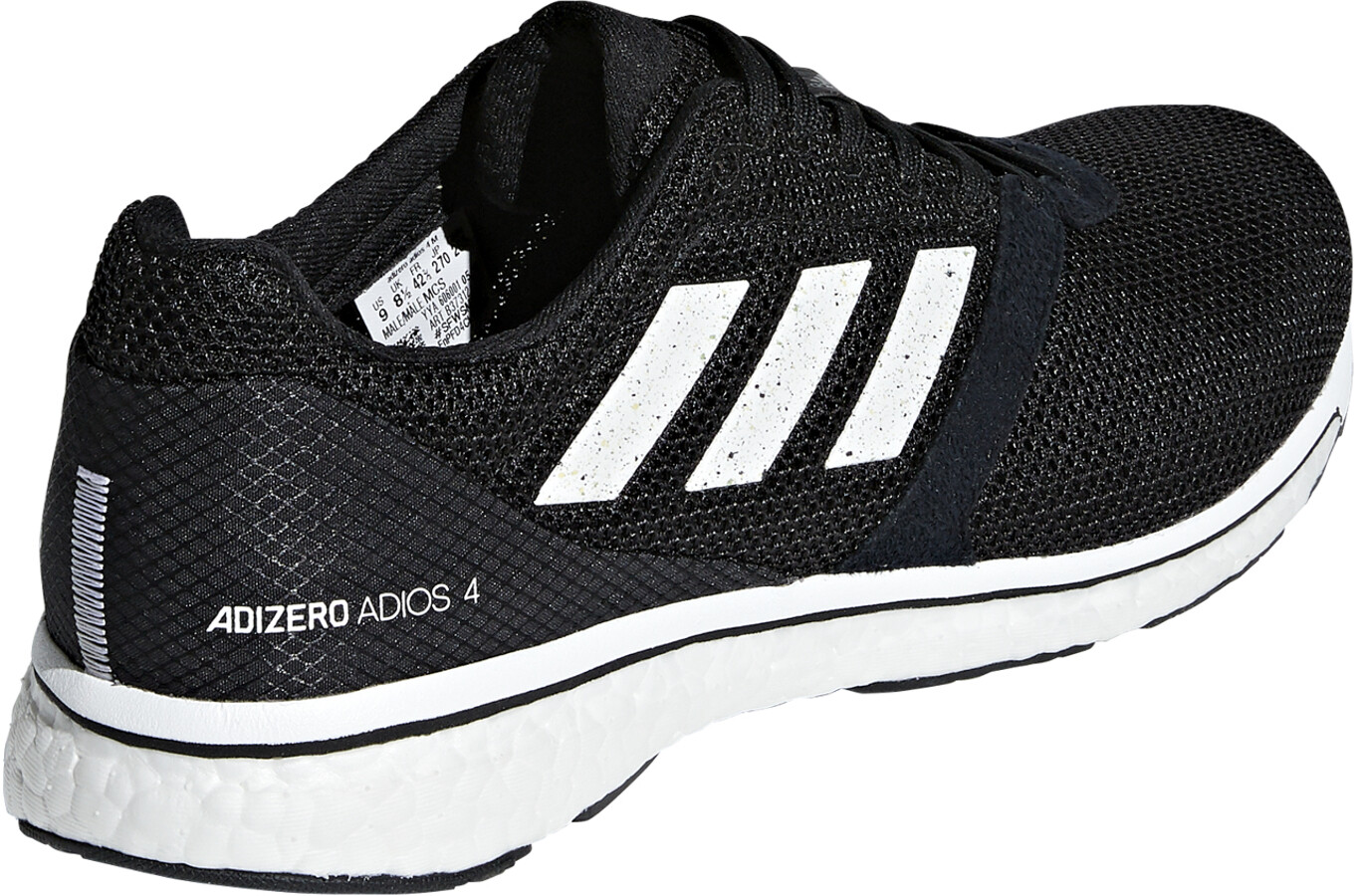 new products dfd62 c49aa adidas Adizero Adios 4 scarpe da corsa Uomo nero